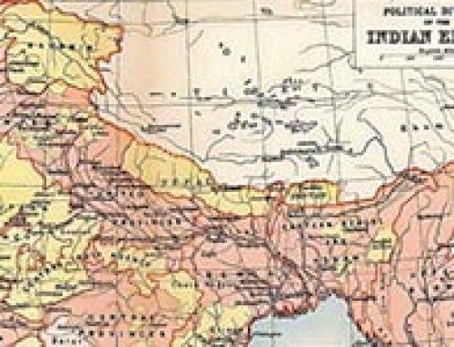 Map of British India (1909)
