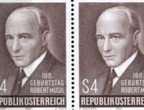 Stamps of Austria: Robert Musil (1980)