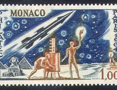 "Stamps of Monaco: ""PHILATEC 1964"""