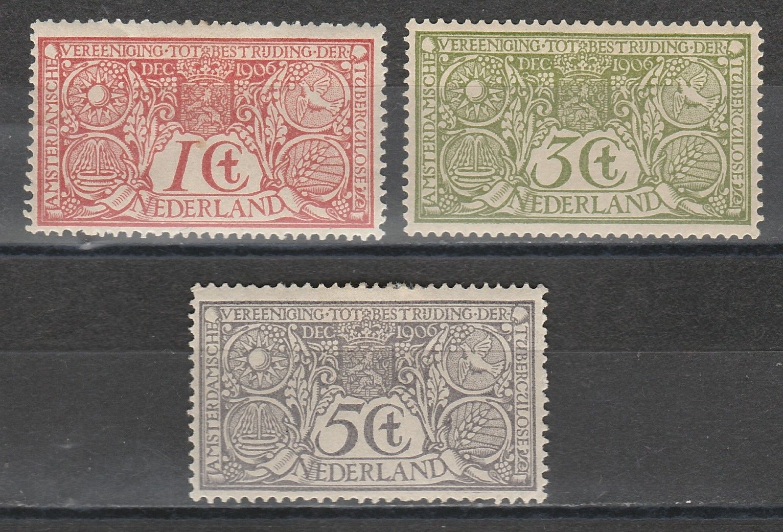 Netherlands TB 1906