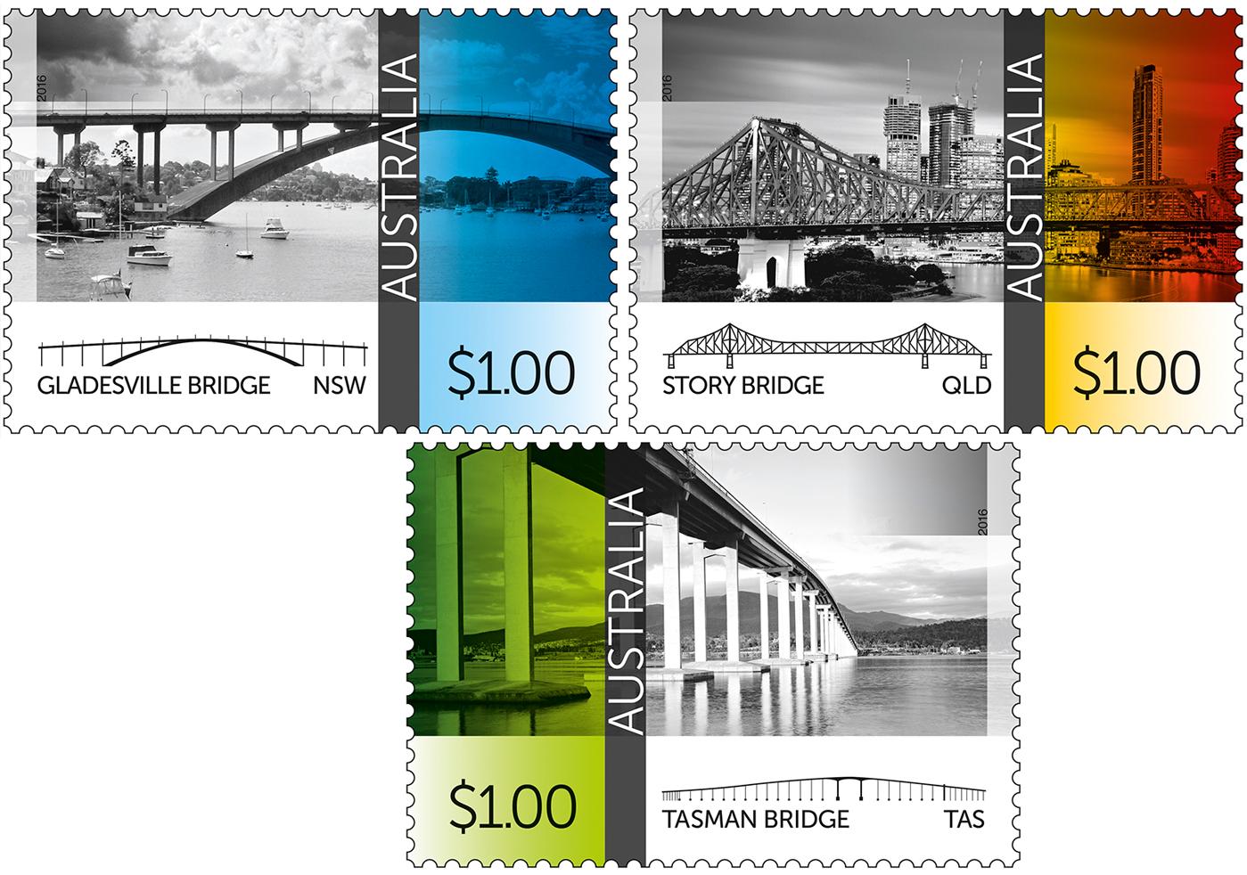 bridges-australia-stamps-l