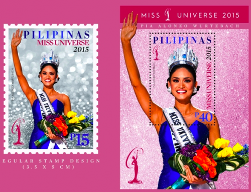 Stamps of the Philippines: Miss Universe Issue (2016)