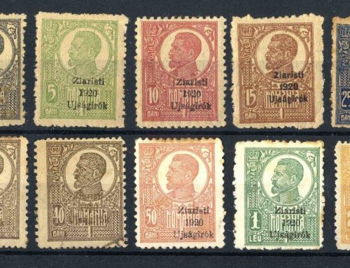 Stamps of Romania: Congress of  Journalists (1920)
