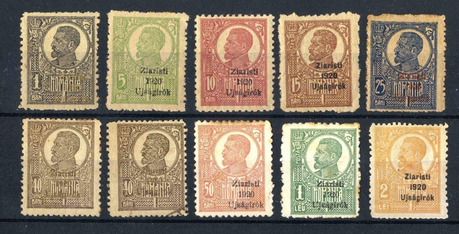 Romania 1920 Ziaristi