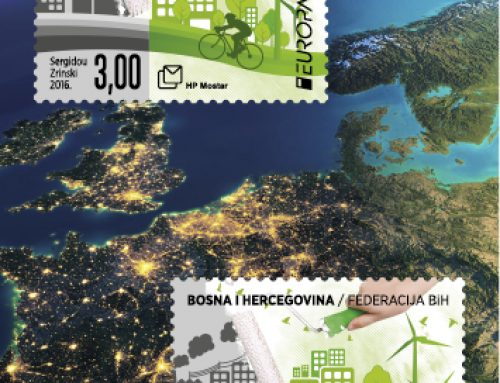 Stamps of Bosnia Herzegovina: Think  Green ! (2016)