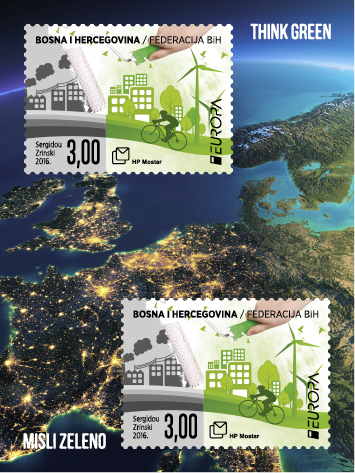 think-green-croatia-mostar-stamp-2l