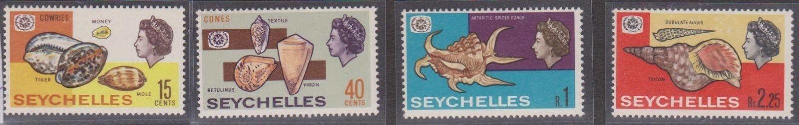 Seychelles shells 1967