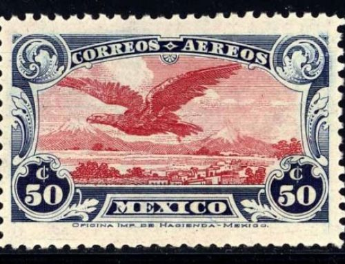 Stamps of Mexico: Airmail Issue (1922)