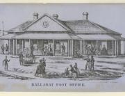 PO Ballarat 1854