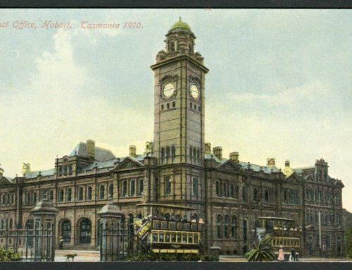 Post Offices of Tasmania: Hobart(1910)