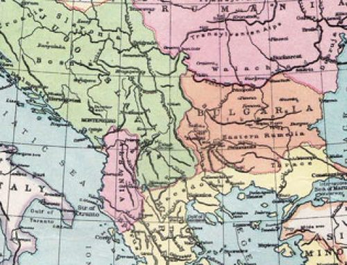 Balkan States Map (1921)