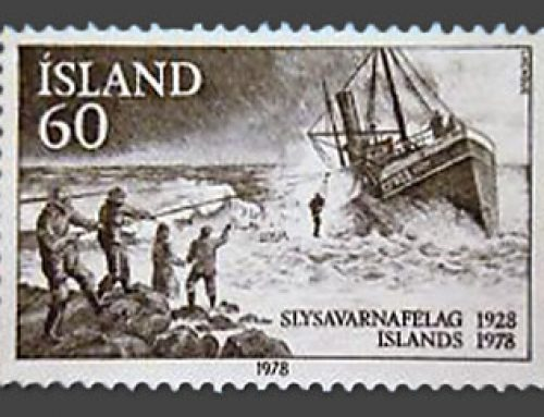Stamps of Iceland: National Life-Saving Association (1978)