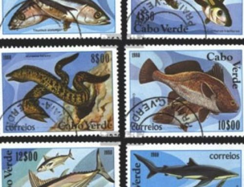 Fish Stamps of Cape Verde (1980)