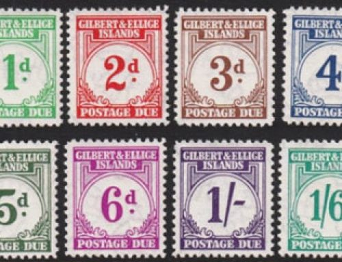 Gilbert & Ellice Islands Stamps: Post Due Issue (1940)