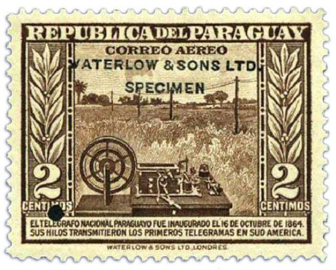 paraguay-specimen-stamp-2c-1944-1945