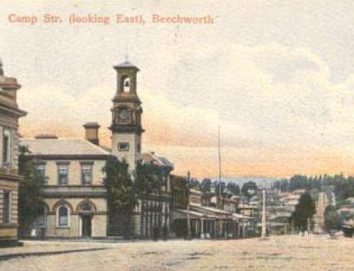 Post Offices of Victoria: Beechworth (1910)