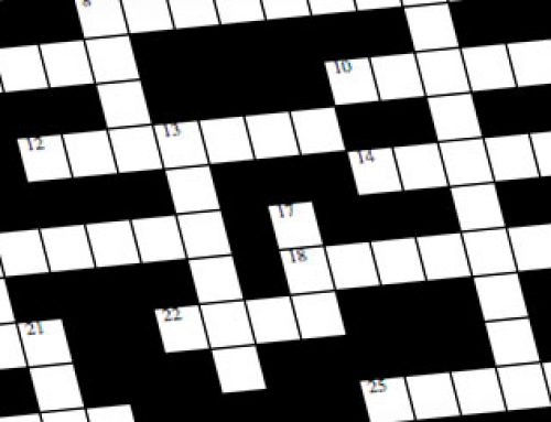 Philatelic Crossword: March 2017