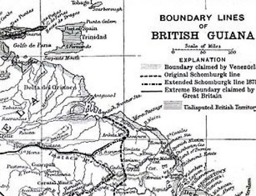 Map of British Guiana (1896)