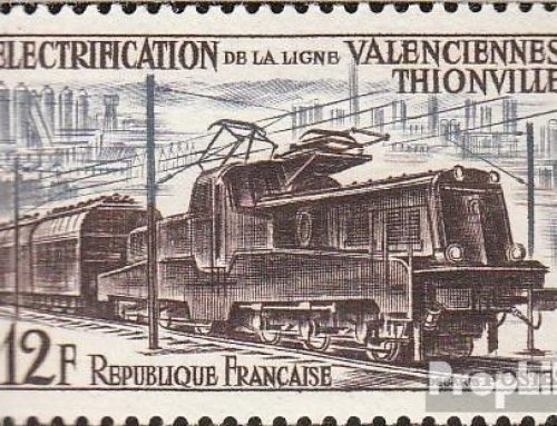 France: Electrification of Valenciennes Railway  Line (1955)