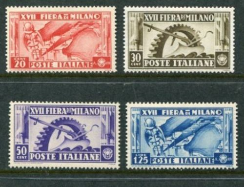 Stamps of Italy : 17th Milan Fair (1936)