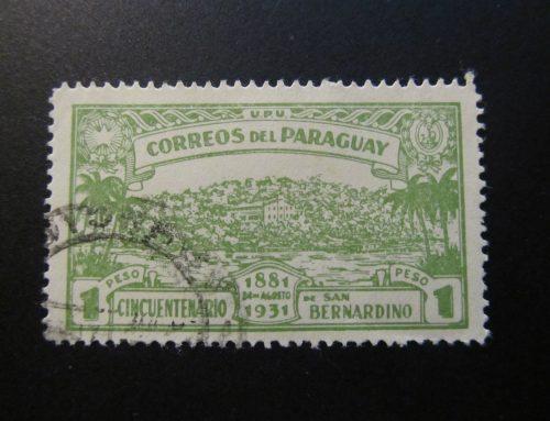 Stamps of Paraguay: San Bernardino Colony (1931)