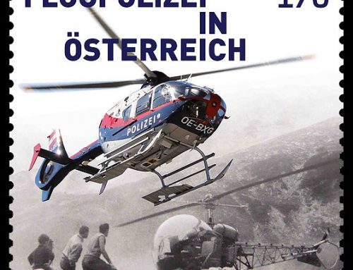 Stamps of Austria: Austrian Air Police (2016)