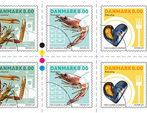 Stamps of Denmark: Shells Issue (2017)