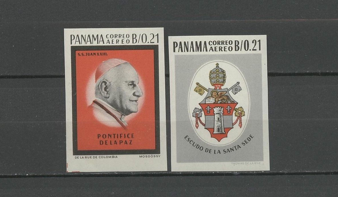 Stamps of Panama: Papal Issue (1964)
