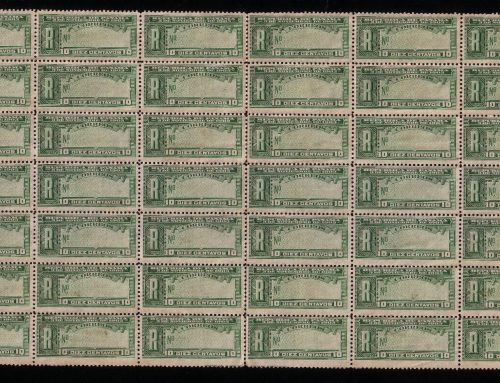 Stamps of Panama: Registration Issue (1904)