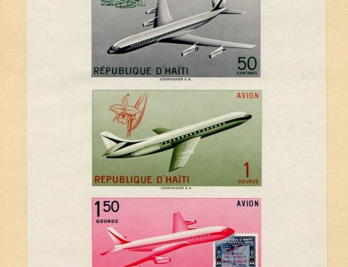 Stamps of Haiti: Aviation Week (1960)