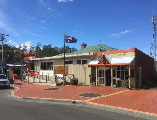 Post Offices of Tasmania:  Geeveston (2017)