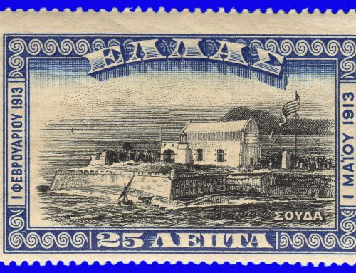 Stamps of Greece: Union of Crete with Greece (1913)