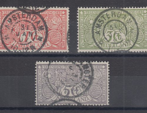 Stamps of Netherlands: Tuberculosis Issue (1906)