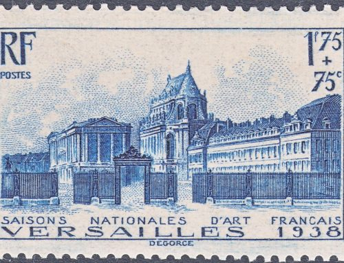 Stamps of France: French National Music Festivals (1938)