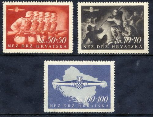 Stamps of Croatia: Storm Division  (1945)